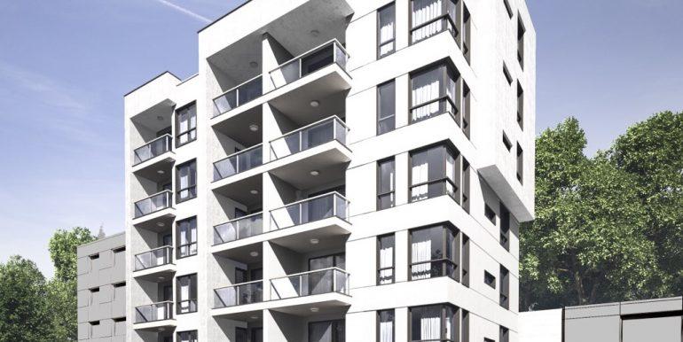 визуализация Green Hill Apartments
